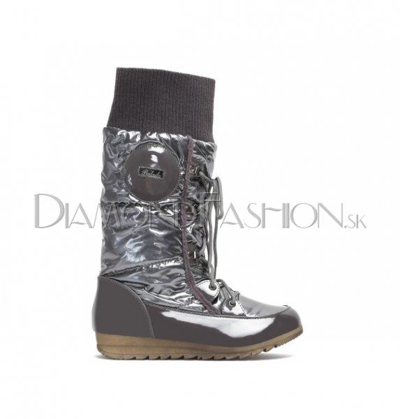 3d802835aa33f Dámske oblečenie | DiamondFashion.sk - Zateplené šedé snehule