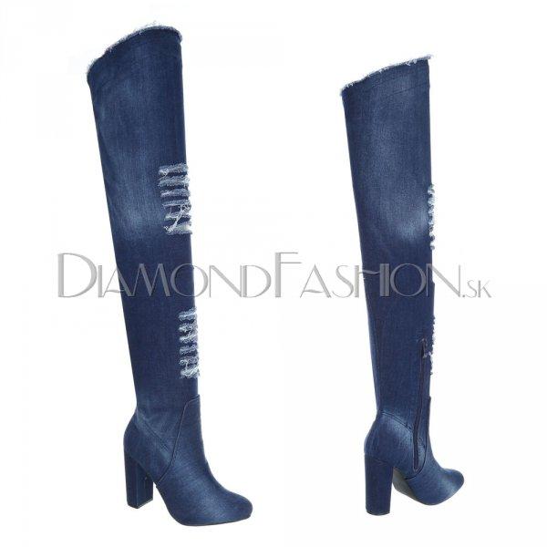 bd2bf93ff Dámske oblečenie | DiamondFashion.sk - Exkluzívne čižmy nad kolená ...