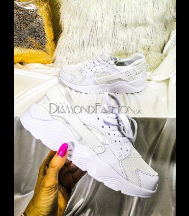 b6752ea245d0 Biele tenisky Nike Huarache style