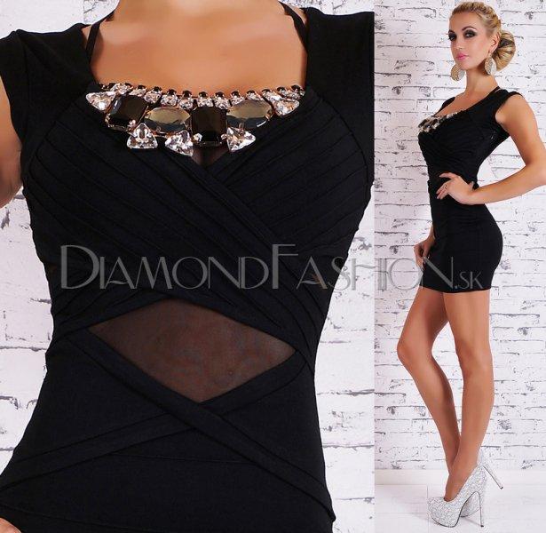 1c2150606a50 Elegantné šaty GLAMOUR